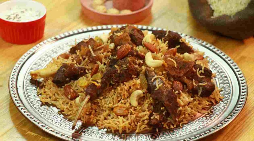 Kabsa Food for Eid