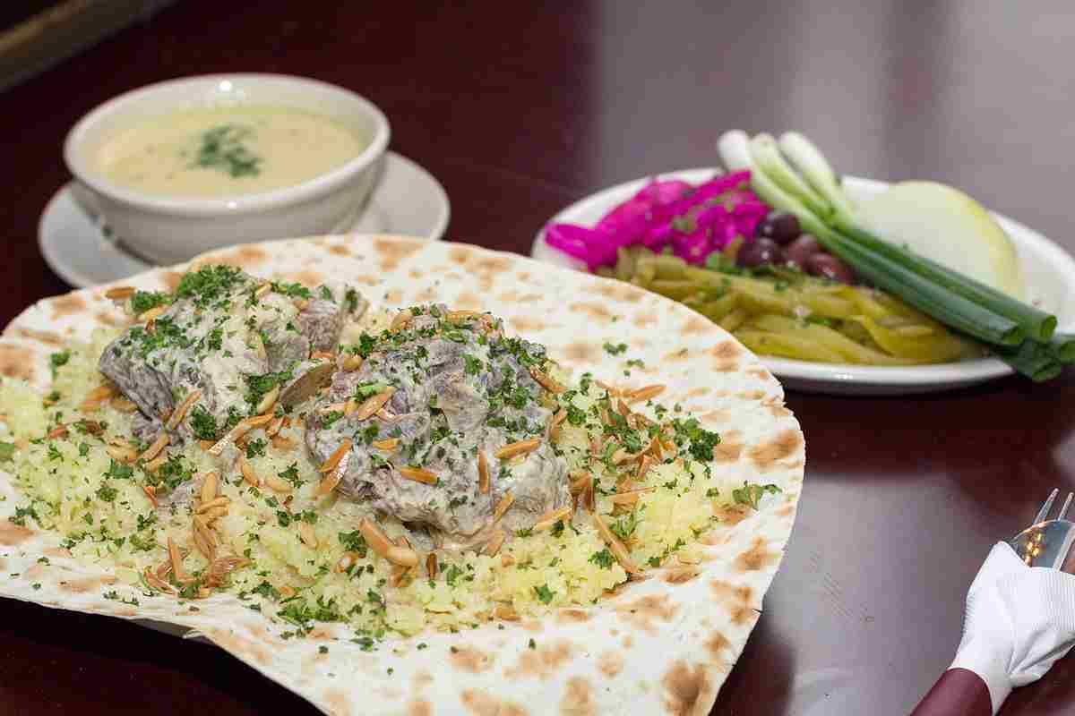Mansaf Food for Eid