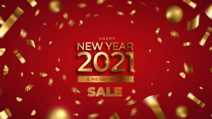 New Year 2021 sales