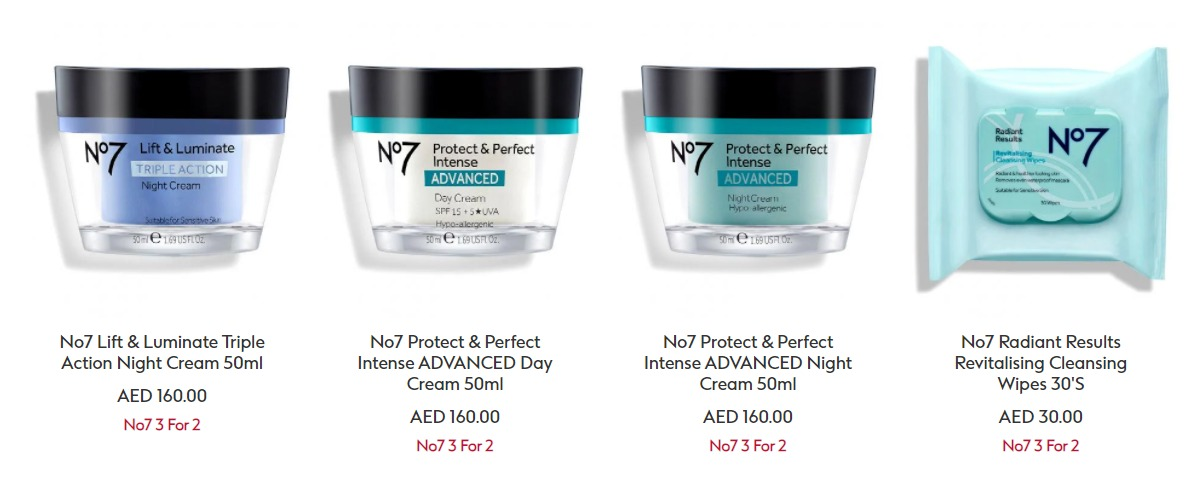50% Off Boots Skincare