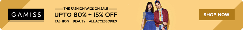 Coupon For Gamiss: Upto 80% OFF + Extra 15% OFF on All Orders